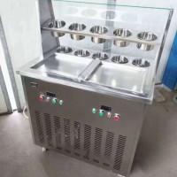 电瓶炒酸奶机流动炒酸奶机炒冰机摆摊炒冰淇机