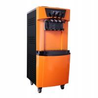 华腾各种型号 炒酸奶机 炒冰机商用炒酸奶机双锅炒冰激凌机方圆锅炒冰淇淋卷机
