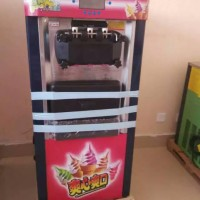 东贝冰淇淋机茌平新款土豪金冰淇淋机器价格_茌平东贝金色软质冰淇淋机器