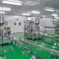 双头水剂灌装机 化妆品机械 灌装机 灌装机厂家 膏液灌装机