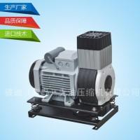 【彼迪压缩机】无油压缩机静音腹吸空压机 砂浆机专用无油空压机