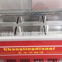 弧形玻璃直冷冷冰粥保鲜展示柜