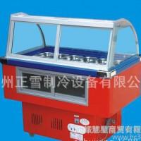 超值正雪冰粥柜1米-1.6米冷藏冷冻熟食鲜肉双温展示陈列商用冷柜