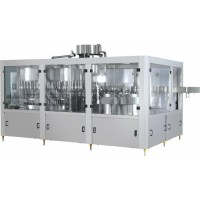 供应蓝晨LC-DCGF系列含果肉果粒饮料灌装机设备的厂家
