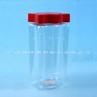 披萨草塑料瓶 1升塑料瓶 方形透明塑料瓶 调味品包装瓶 塑料瓶生产厂家