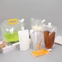 钦典 QD-200C/300婴儿果泥灌装包装机吸嘴式果冻包装机果汁饮料灌装包装机全自动液体包装机