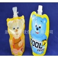 异形果汁袋/果冻吸嘴自立袋/口径吸嘴