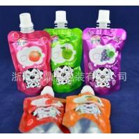【热荐】吸吸果冻吸嘴袋/复合果汁包装袋/铝箔吸嘴自立袋