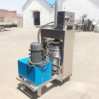 西兰花、花椰菜原汁果蔬汁提取压榨机 液压方式出汁大型榨汁机