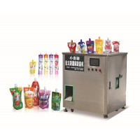 HF-ZLD冷食专用可吸冻吸得冻灌装机冰淇淋灌装封口机