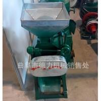 粮食挤扁机多功能对辊式豆扁机小麦轧扁机燕麦片加工专用挤扁机