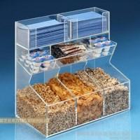 定制            定制多功能超市专用亚克力糖果盒