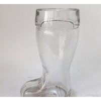 创意靴子啤酒杯酒吧KTV专用杯可爱靴子杯玻璃糖果瓶透明小玻璃