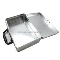 马口铁长方形手挽铁罐 产品包装铁盒 小号手提铁箱 收纳盒