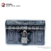 骷髅头存钱铁盒、带锁储蓄铁罐、存钱铁罐、海盗宝箱存钱铁罐