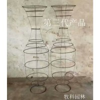 植物造型模具 紫薇花瓶模具 紫薇花瓶骨架批发 紫薇花瓶模具制作 紫薇花瓶批发
