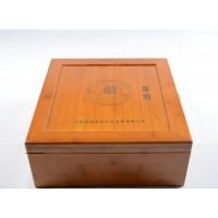茶油外包装 竹木礼盒定制 激光雕刻