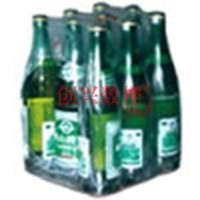 聊城创兴6040pvc热收缩包装机 袖口式果汁外包装热缩膜包装机价格