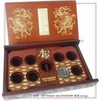 金银保健杯礼盒包装 金银保健杯木盒包装生产工厂