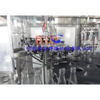 玻璃瓶果汁茶饮料灌装生产线饮料设备猴头菇饮料灌装机BBR-2