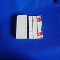 精钢新品 PLC控制外壳 双边出线 JG3-27 尺寸200X110X60模具加工 电子控制仪表壳体