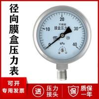 液压压力表厂家价格 液压压力仪表Y-100B型号304 316L