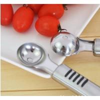 挖果肉器 不锈钢水果球勺子挖西瓜球勺冰淇淋勺水果挖球器