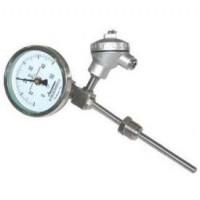 WSS-481PG专业温度仪表WSS-481带热电偶(阻)、温度变送器的双金属温度计 双金属温度计**