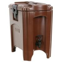 饮料保温桶 咖啡酒吧保温桶 实心PU材质带水**保温桶