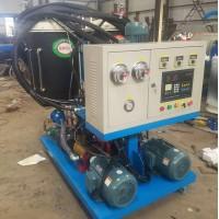 利德 保温桶聚氨酯小型发泡机 聚氨酯铝材填充发泡机