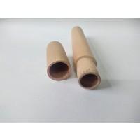 ** 可印LOGO木盒  榉木荷木木香筒 木吸管盒 定制木工艺品