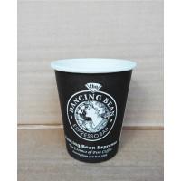 一次性纸杯定做 单淋膜 通货英文杯/圣女杯 8盎司